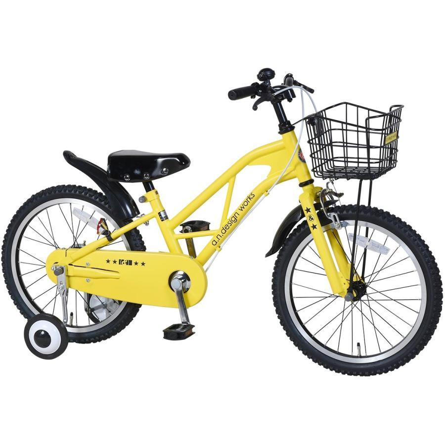 子供用 自転車 16インチ 本体 男 女 おしゃれ キッズ 100~120cm 3歳 4歳 5歳 6歳 お客様組立 アウトレット a.n.design works REX16 レックス nextbike 16
