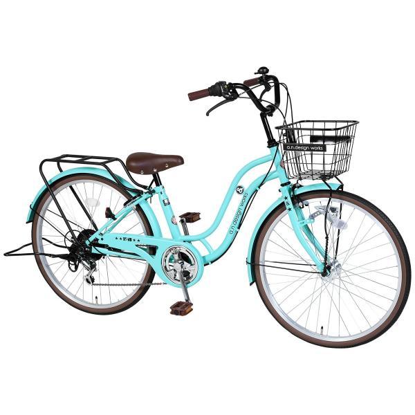 子供用 自転車 24インチ 本体 小学生 男の子 女の子 ギアあり 変速 おしゃれ 130~150cm 7歳以上 カンタン組立 アウトレット a.n.design works SL246HD|nextbike|22