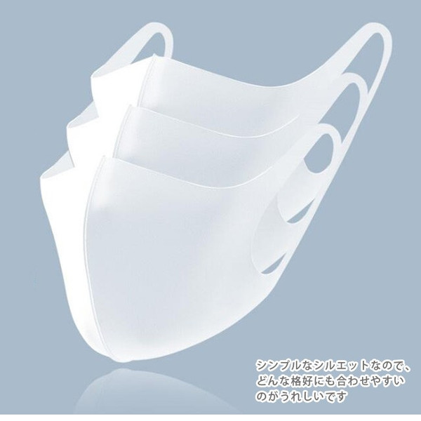 5枚入り マスク 夏用マスク 接触冷感 冷感マスク ひんやり 涼しいマスク クール 冷たい 洗える 布マスク 大人用 薄い 通気性 UVカット 蒸れない|ngytomato|22