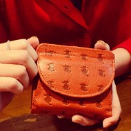 財布 本革 猫 コインケース