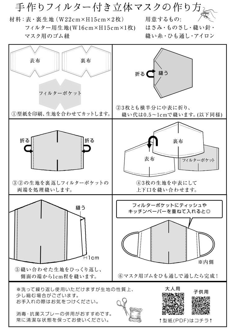 ノーズ ワイヤー マスク 手作り