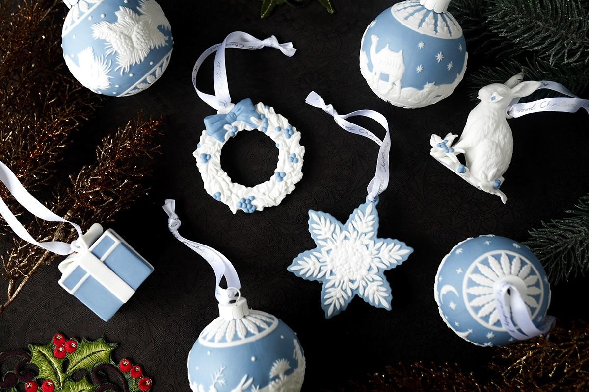 WEDGWOOD クリスマスコレクション ホリデイオーナメント