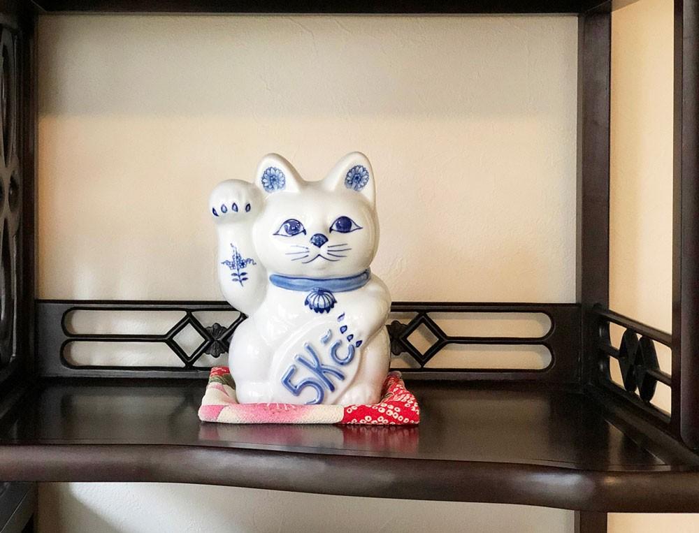 カールスバード 招き猫 ラッキーキャット