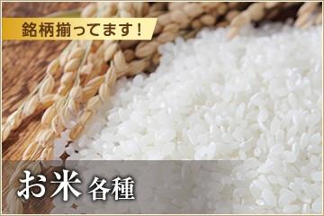 【銘柄揃ってます!】お米各種