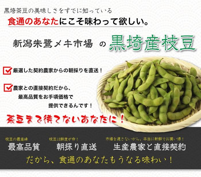 黒崎産枝豆