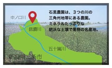 新潟県三条市の説明地図