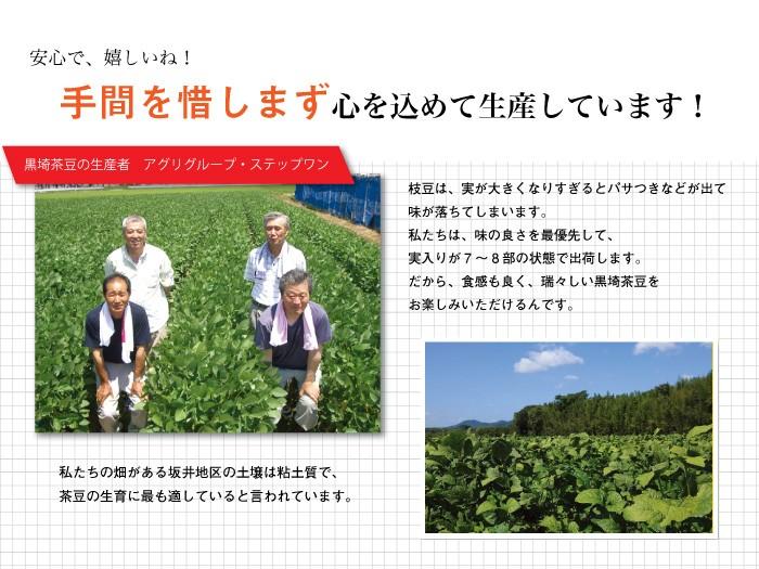 黒崎茶豆の生産者