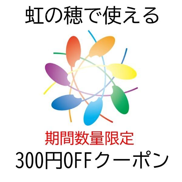 虹の穂の買い物で3,000円以上で使える300円OFFクーポン