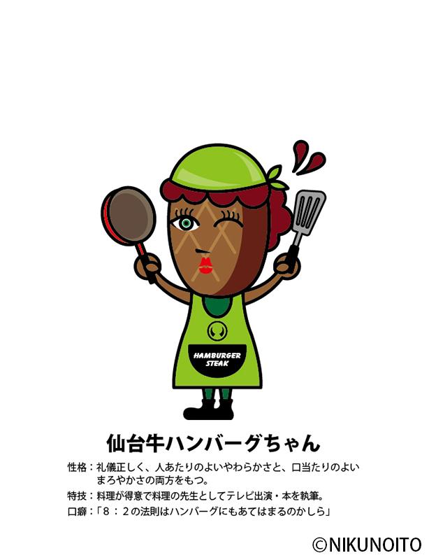 仙台牛ハンバーグちゃん