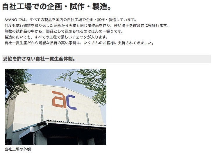 AYANO 綾野製作所