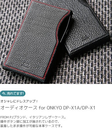 ONKYO DP-X1A用ケース