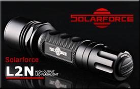 Solarforce L2N フラッシュライトボディ BK