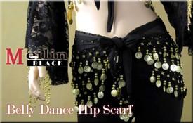 ベリーダンス用ヒップスカーフ