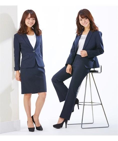 03d9123136681 レディーススーツ 小さいサイズ 3点セットスーツ(ジャケット+スカート ...
