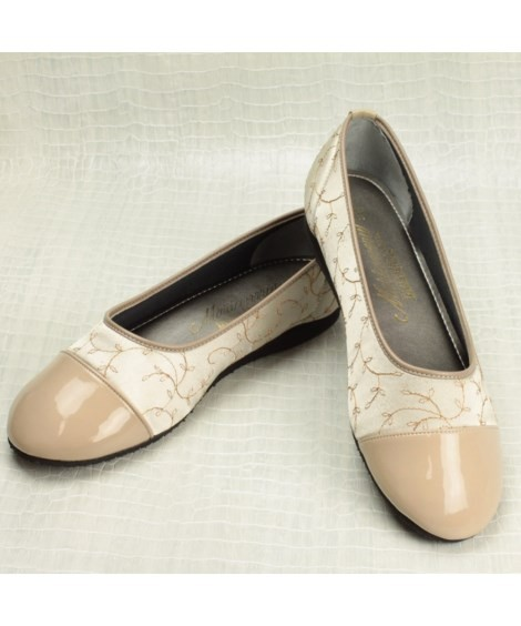 靴(シューズ)|マリアンヌ らくらくお散歩パンプス ニッセン nissen(C・ベージュ)