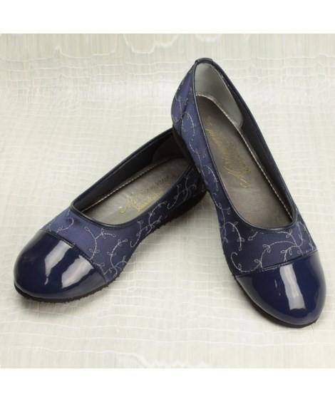 靴(シューズ)|マリアンヌ らくらくお散歩パンプス ニッセン nissen(B・ネイビー)