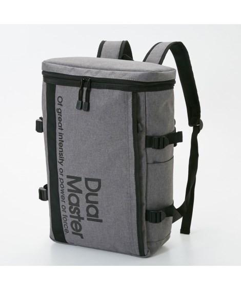 バッグ(鞄)|Dual Master(デュアルマスター)スクエアリュック(A4対応) ニッセン nissen(F・グレー)