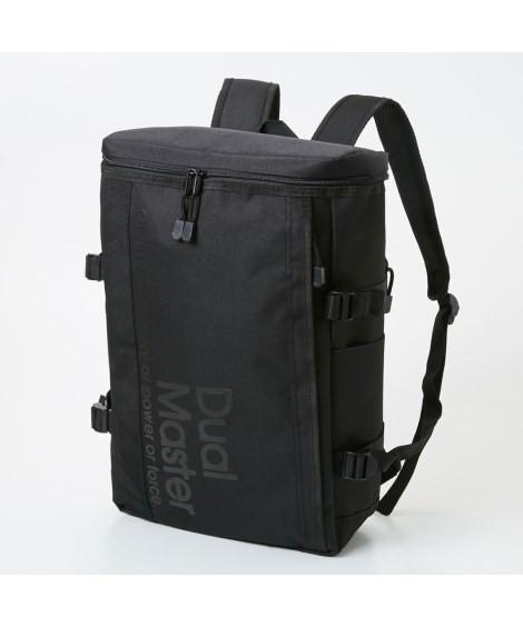 バッグ(鞄)|Dual Master(デュアルマスター)スクエアリュック(A4対応) ニッセン nissen(A・ブラック)