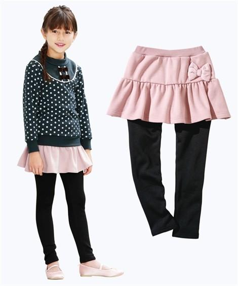 21df0dd329dfe スカッツ キッズ リボン付裏シャギー 女の子 子供服・ジュニア服 ...