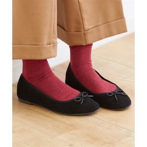 靴 レディース ポインテッドトゥ バレエ シューズ 21.0〜21.5〜26.0〜26.5cm ニッセン nissen|ニッセン PayPayモール店