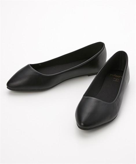 靴(シューズ) やわらかカッターシューズ(低反発中敷)(ワイズ4E) ニッセン nissen(黒)