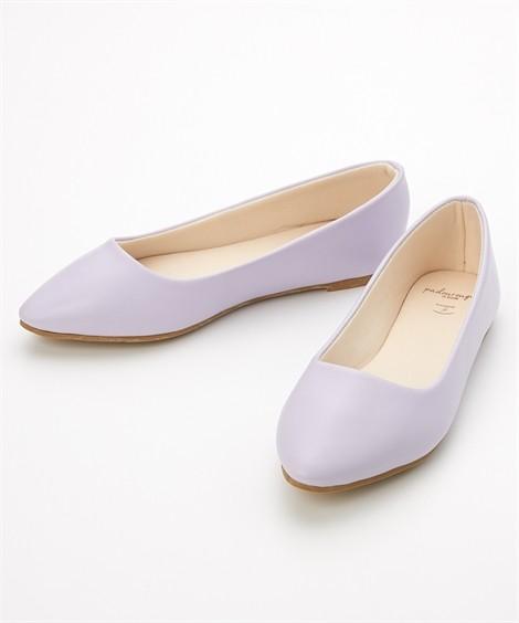 靴(シューズ) やわらかカッターシューズ(低反発中敷)(ワイズ4E) ニッセン nissen(ラベンダー)