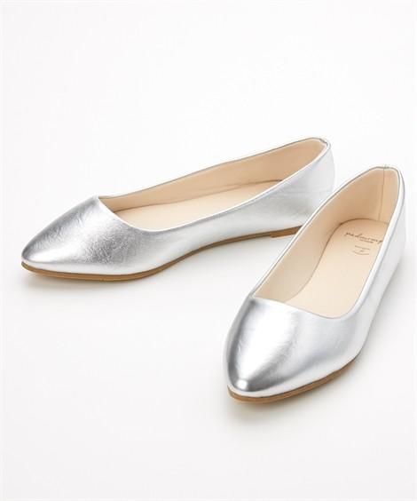 靴(シューズ) やわらかカッターシューズ(低反発中敷)(ワイズ4E) ニッセン nissen(シルバー)