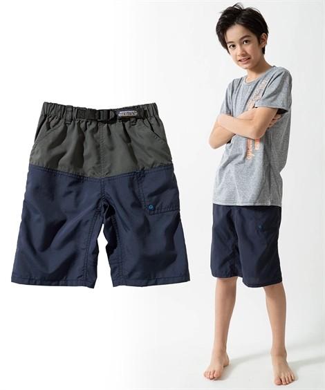 ボトムス|水陸両用アクティブパンツ(男の子 子供服・ジュニア服) ニッセン nissen(ネイビー)