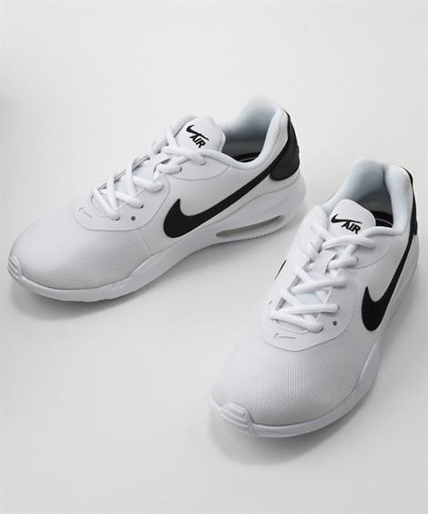 靴(シューズ)|ナイキ ウィメンズエアマックスオケト(NIKE WS AIRMAX OKETO) ニッセン nissen(ホワイト×ブラック)