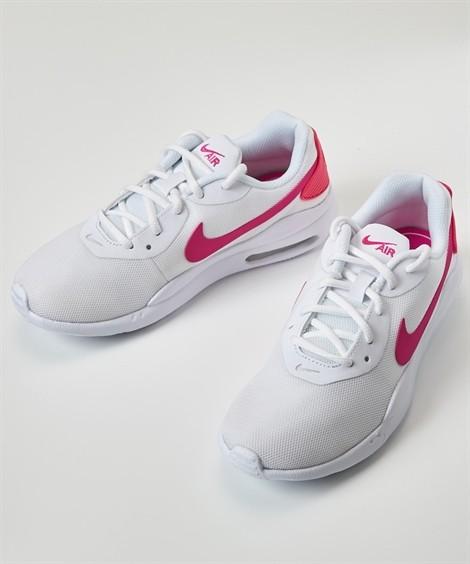靴(シューズ)|ナイキ ウィメンズエアマックスオケト(NIKE WS AIRMAX OKETO) ニッセン nissen(ホワイト×レーザーフューシャ)