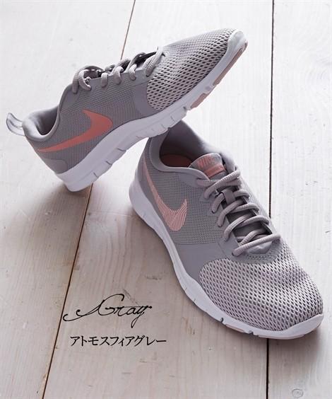 靴(シューズ)|ナイキ ウィメンズフレックスエッセンシャルTR ニッセン nissen(アトモスフィアグレー)