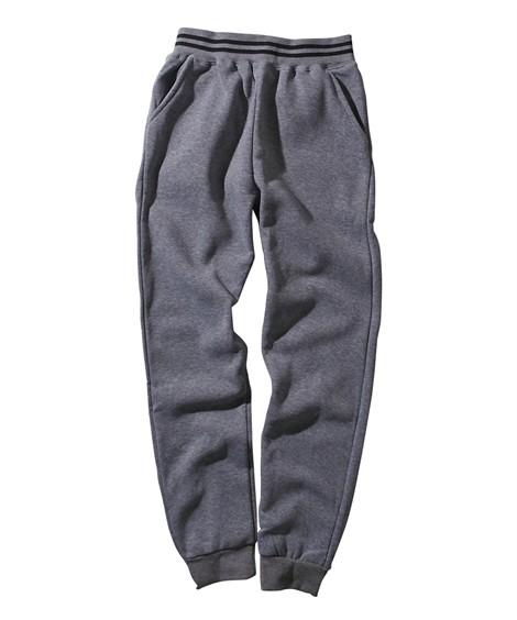 ボトムス|裏起毛ロングパンツ(男の子 子供服・ジュニア服) ニッセン nissen(杢グレー)