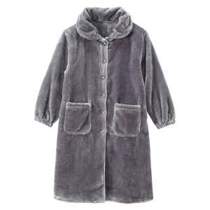 パジャマ トップス レディース 毛布屋さんが作った あったか ルーム ワンピース 着る毛布 S/M/L ニッセン nissen|ニッセン PayPayモール店