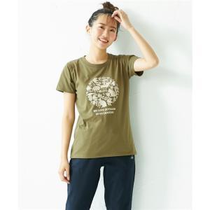 Tシャツ カットソー 大きいサイズ レディース LOGOS ロゴス プリント 刺しゅう LL/3L/4L/5L ニッセン nissen|ニッセン PayPayモール店