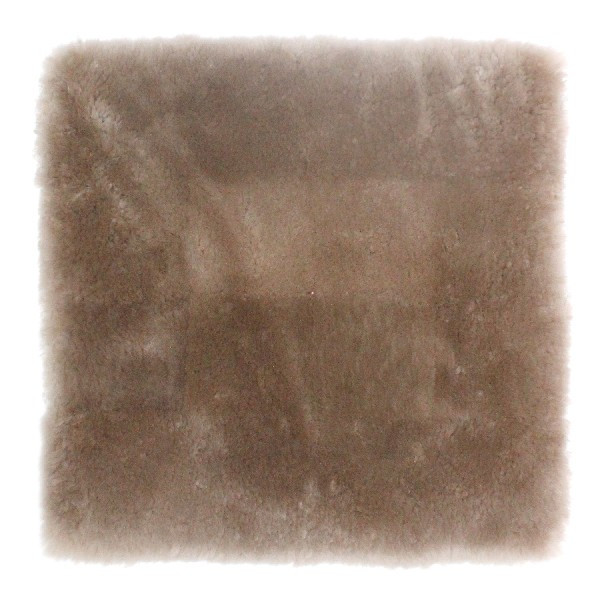 蒸れにくい ムートンクッション「淡色」 座布団 短毛26mmタイプ 40×40 日本製 年中快適でダイニング・オフィスチェアに最適|noble-collection|12