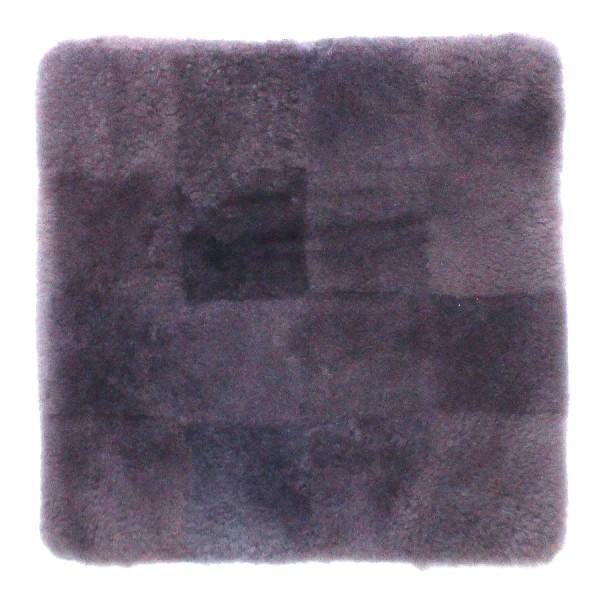 蒸れにくい ムートンクッション「淡色」 座布団 短毛26mmタイプ 40×40 日本製 年中快適でダイニング・オフィスチェアに最適|noble-collection|13