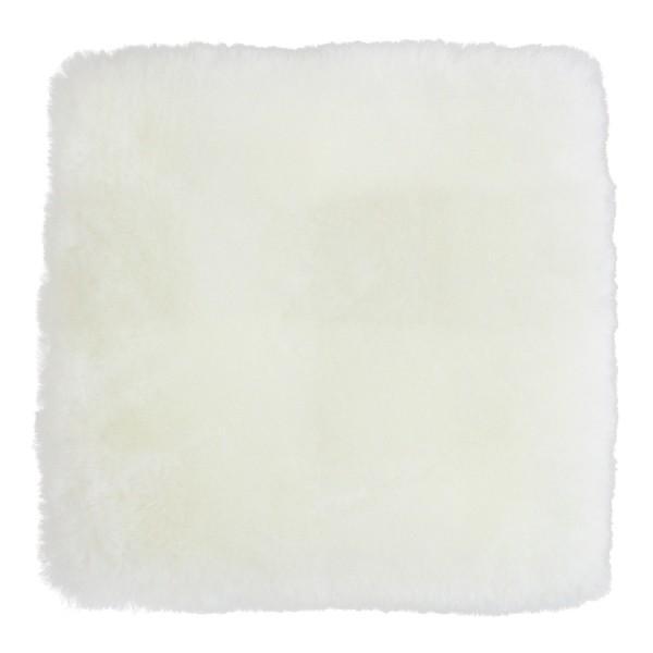 蒸れにくい ムートンクッション「淡色」 座布団 短毛26mmタイプ 40×40 日本製 年中快適でダイニング・オフィスチェアに最適|noble-collection|10