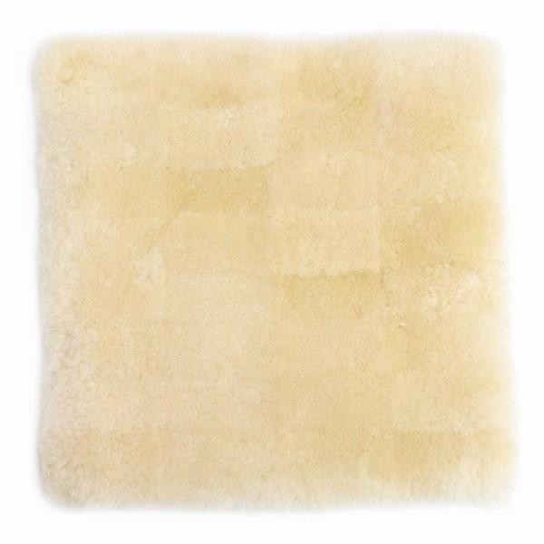 蒸れにくい ムートンクッション「淡色」 座布団 短毛26mmタイプ 40×40 日本製 年中快適でダイニング・オフィスチェアに最適|noble-collection|14