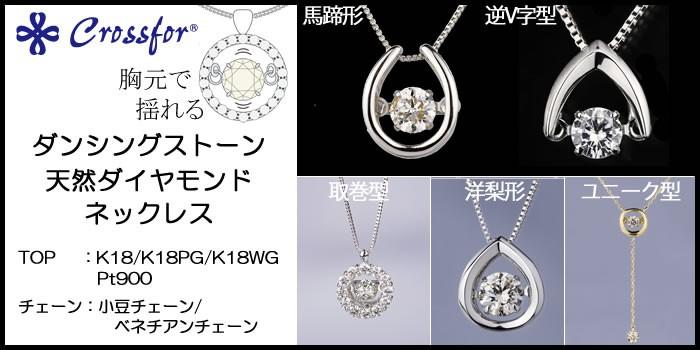 CROSSFOR DIAMOND NECKLACE