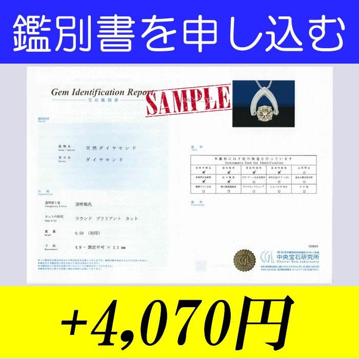 OPTION 鑑別書一石用 +4,000円