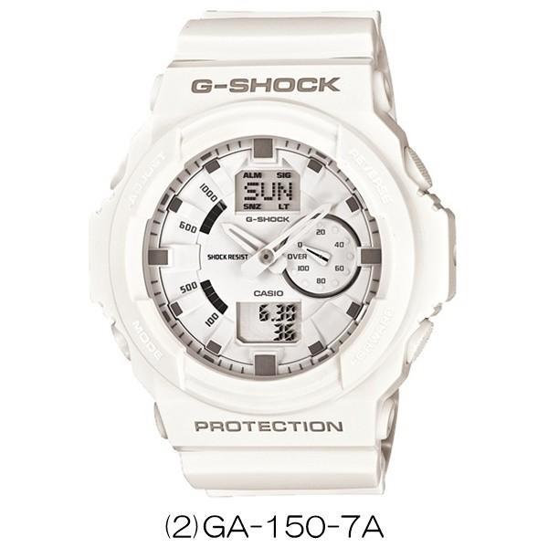 【選べる4モデル】CASIO G-SHOCK カシオ Gショック ジーショック  メンズ レディース BASICモデル ホワイト デジタル アナデジ 海外モデル あすつく 腕時計 nopple 03
