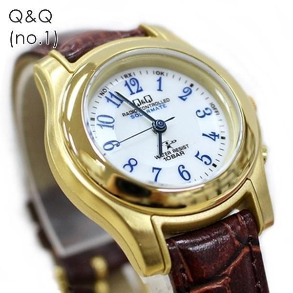 電波ソーラー 腕時計 レディース シチズン Q&Q キューアンドキュー 国内正規品|nopple|08