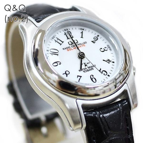 電波ソーラー 腕時計 レディース シチズン Q&Q キューアンドキュー 国内正規品|nopple|09