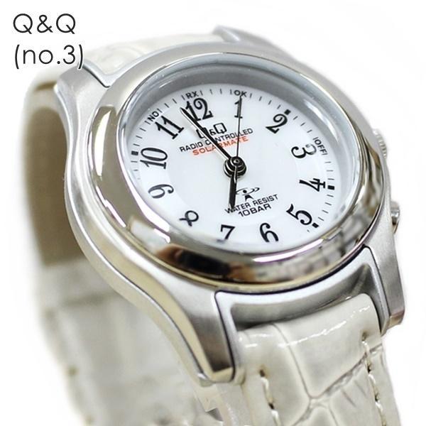 電波ソーラー 腕時計 レディース シチズン Q&Q キューアンドキュー 国内正規品|nopple|10