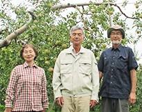 成田りんご園(青森県板柳町) 私たちが作っています