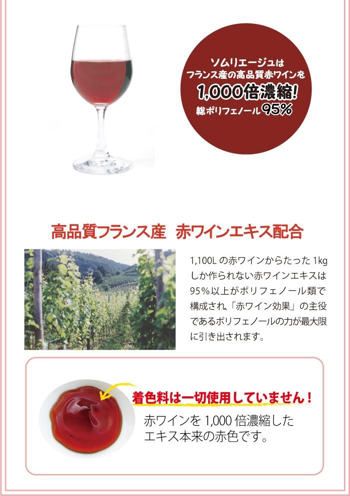 赤ワイン/化粧品/ポリフェノール/美肌/エイジング