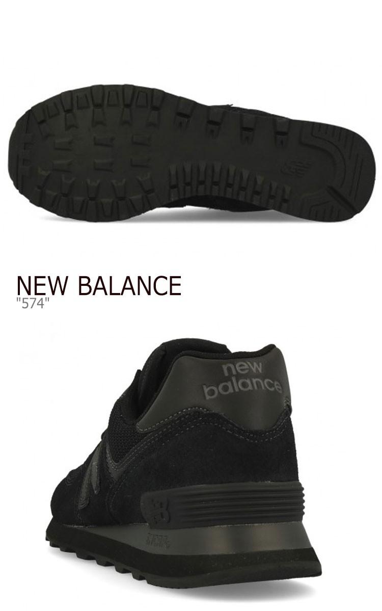 new balance 574 ete black