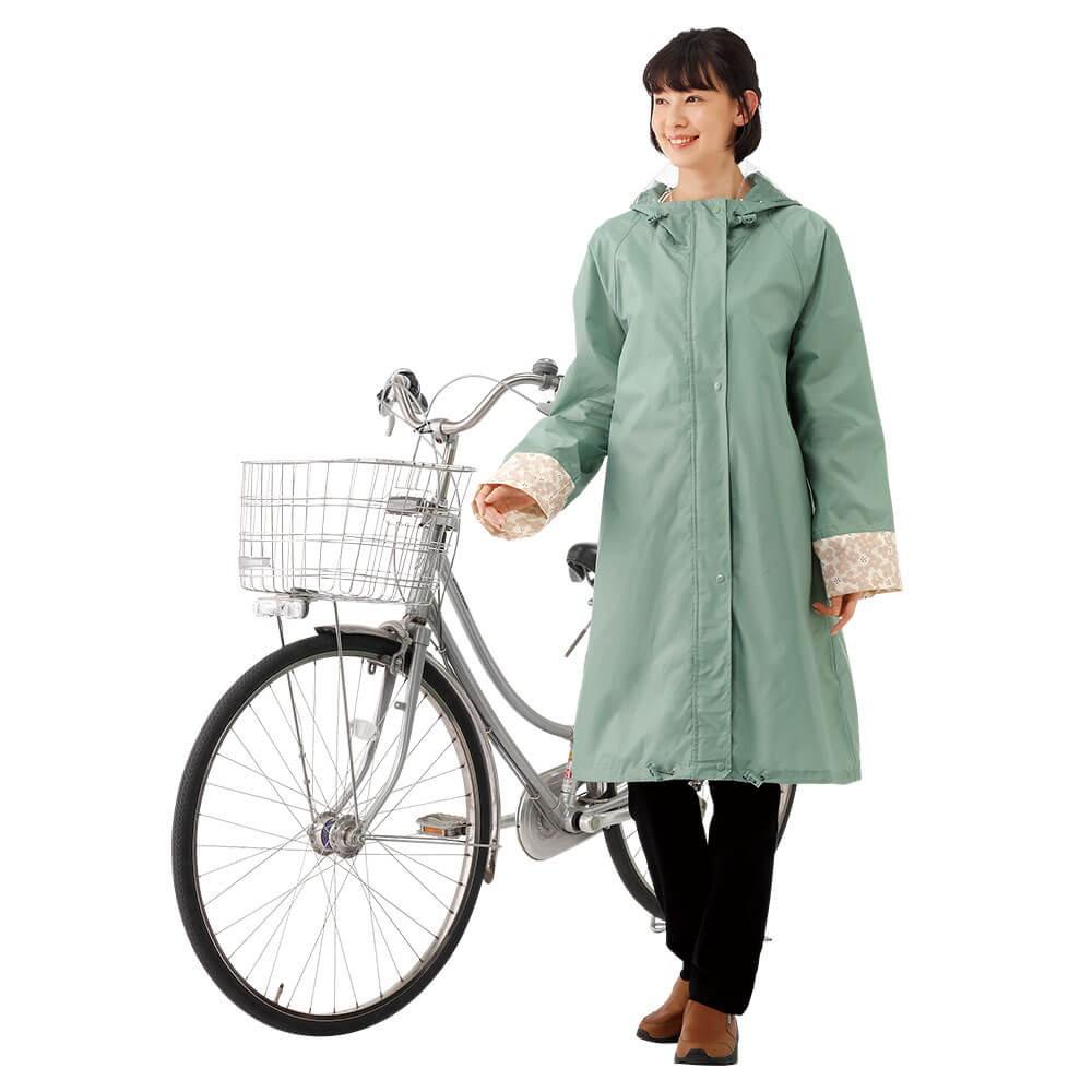 自転車レインウェア