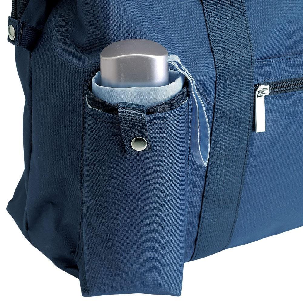 濡れた傘・ペットボトルを収納可能