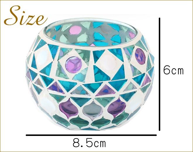 モザイクガラスホルダー サイズ